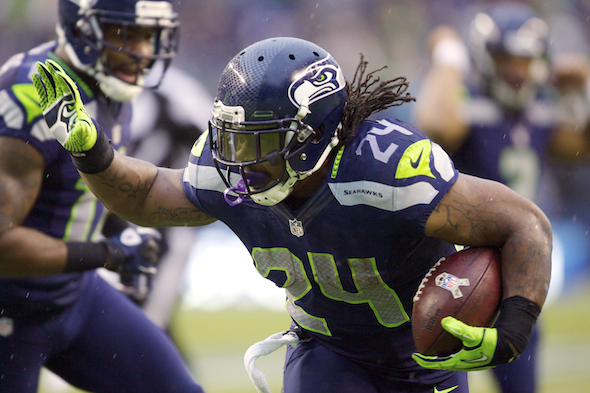 Marshawn Lynch / Drew Sellers, Sportspress Northwest