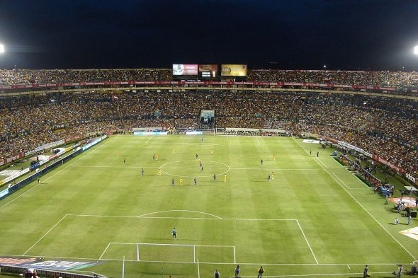 is the Monterrey, Mexico, home of the Tigres team that the Sounders will face Wednesday night in a Champions League match. / Wiki Commons