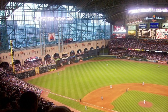 The Mariners lost two of the three games in their first series of the season against the Houston Astros, and now take on the AL West's last place team at Minute Maid Park. / Wiki Commons