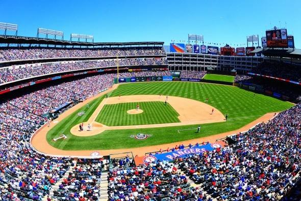 The Mariners and Rangers resume their season series Friday with Joe Saunders facing Yu Darvish at Rangers Ballpark in Arlington. / Wiki Commons