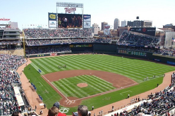 The Mariners will begin a three-game, weekend series at Target Field in Minneapolis Friday afternoon. / Wiki Commons
