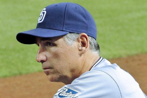 San Diego manager Bud Black / Wiki Commons