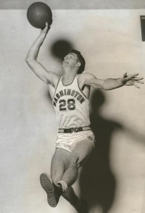 Chorlton accepted a combined basketball-baseball scholarship to the University of Washington where he played both sports for three years. / David Eskenazi Collection