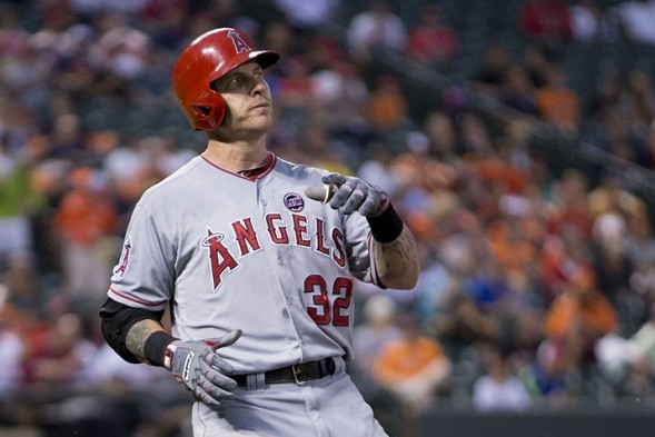 Josh Hamilton, whom the Mariners pursued last winter, has been a major bust in his first season in Anaheim. / Wiki Commons