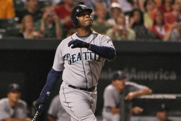 Ken Griffey Jr. made 13 All-Star appearances, including 10 with Seattle, after he Mariners made him the No. 1 overall pick in the 1987 amateur draft. / Wiki Commons