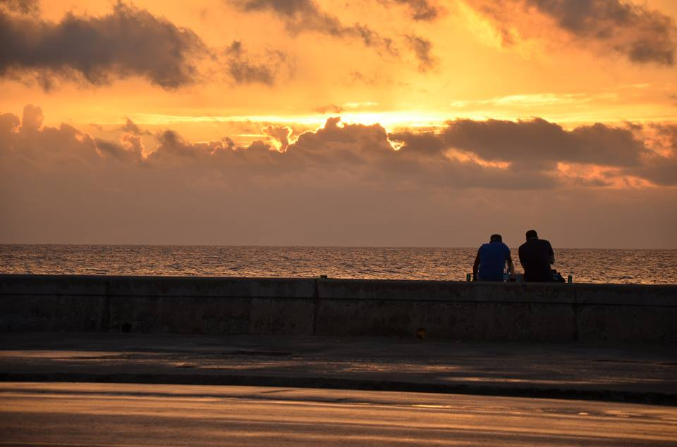 The Malecon at Sunset / Ed Raible, Murrow News Service