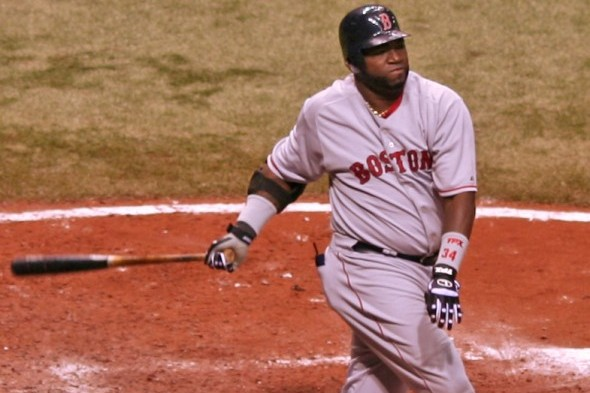 Boston's David Ortiz / Wiki Commons