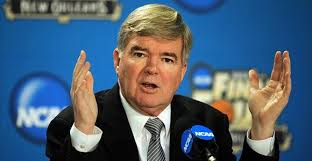 NCAA president Mark Emmert has decriminalized cream cheese. Golf clap. / NCAA