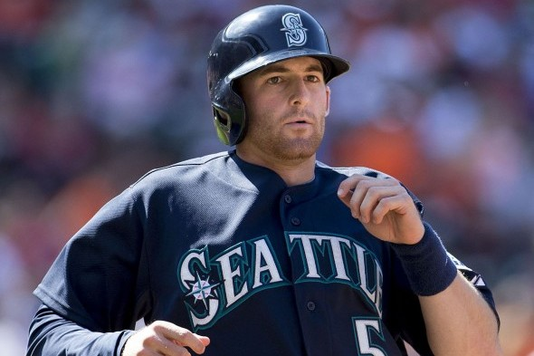 SS Brad Miller showed spurts of productivity at the plate last season after getting off to a terrible start. / Wikcommon
