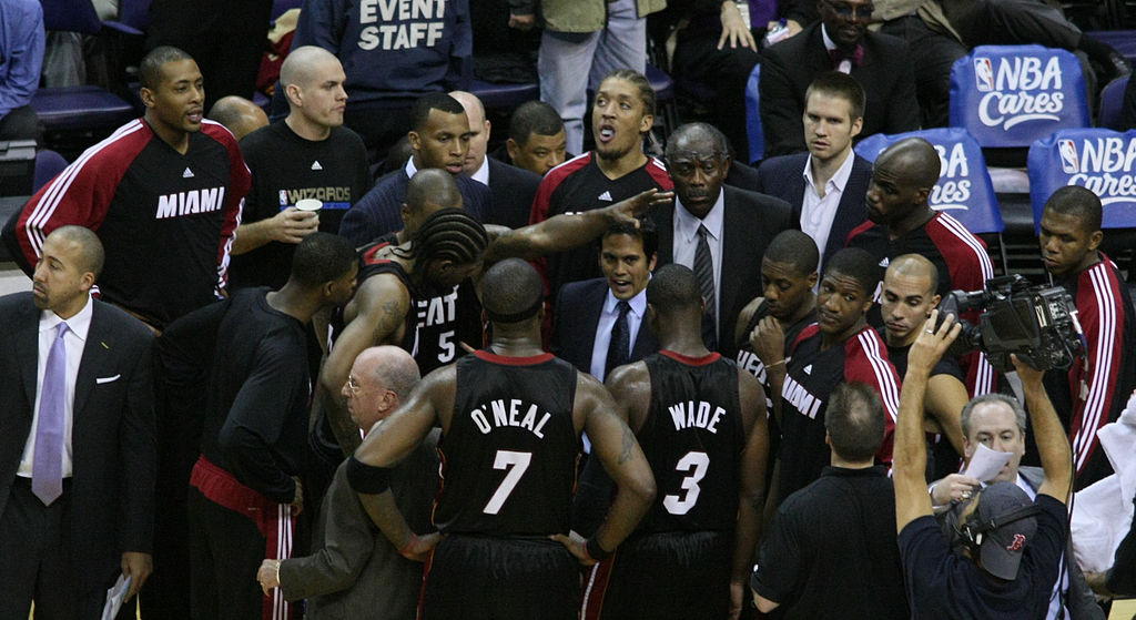 Erik Spoelstra has become used being in the middle of national sports frenzy. / Wiki Commons