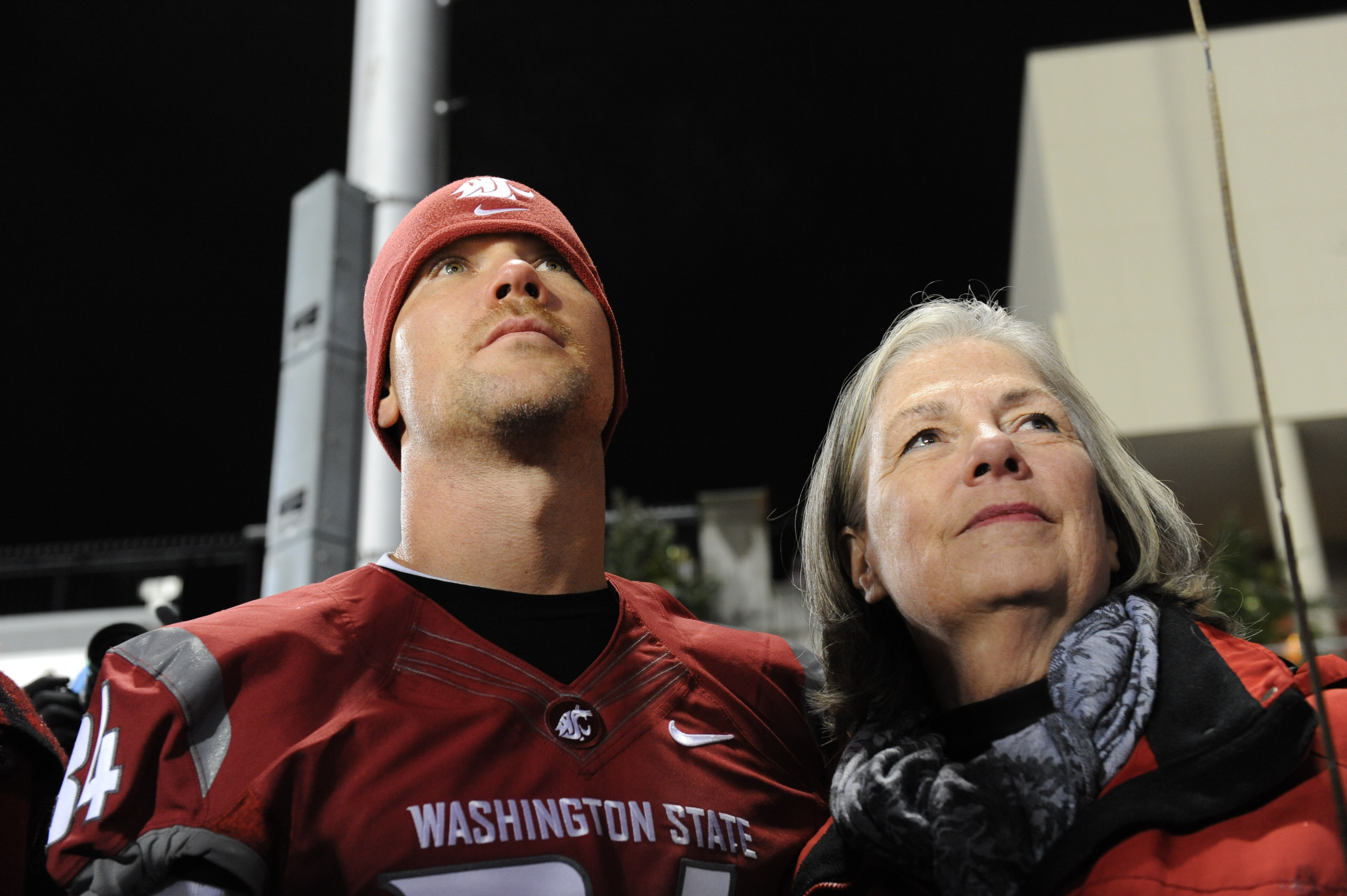 Gail Gleason, and a host of helpers, are continuing the fight against ALS on behalf of her son, Steve. / Washington State University