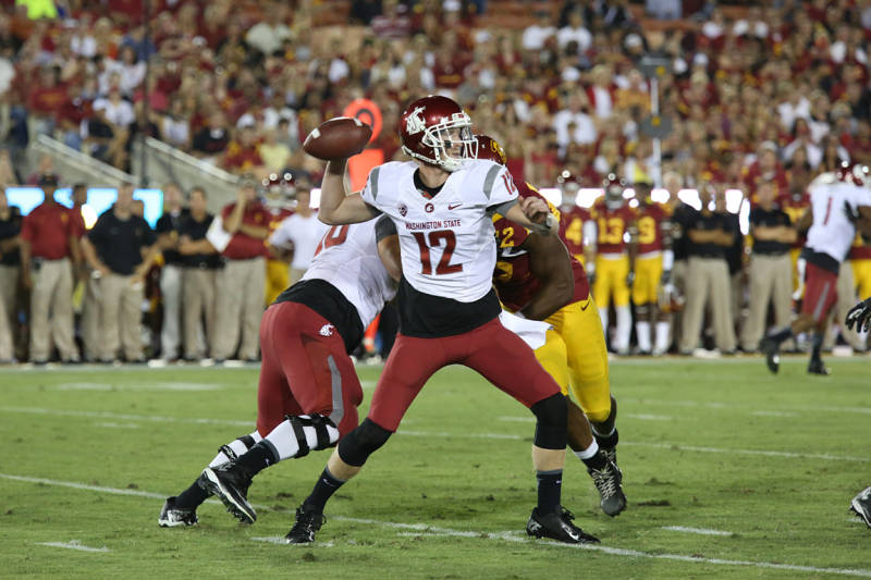 Boosted by a win in September against USC, The Cougars raced to a 4-2 start. / Washington State athletics