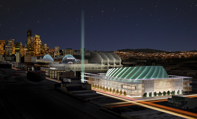 The SoDo arena project takes yet another turn. / 360 Architects
