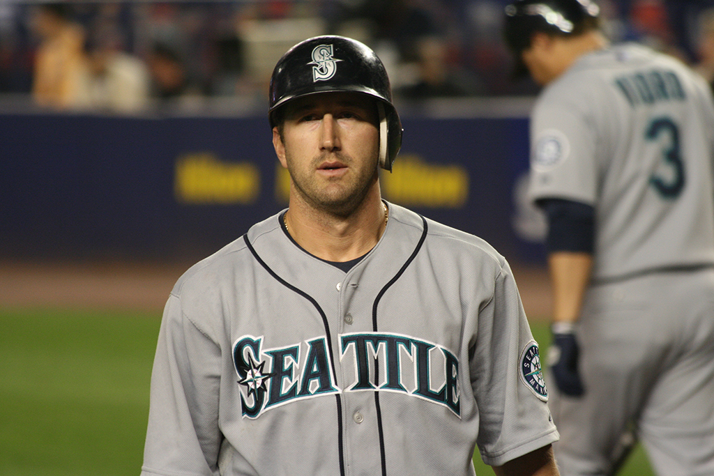 WIllie Bloomquist has played every position other than pitcher and catcher during his 12-year career. / WikiCommons