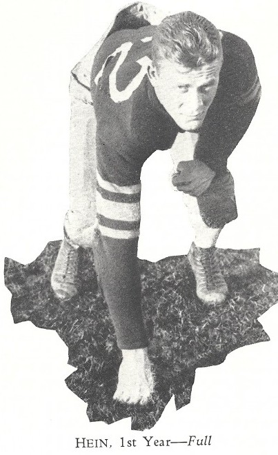Mel Hein captained the 1931 Washington State Rose Bowl team and then starred for the New Giants. He won the NFL's Most Valuable Player award in 1938 -- as a center. / David Eskenazi Collection