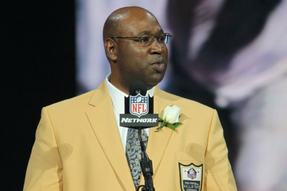Cortez Kennedy went long, funny and deep in his induction speech at Pro Football; Hall of Game Sunday. /  Seahawks.com