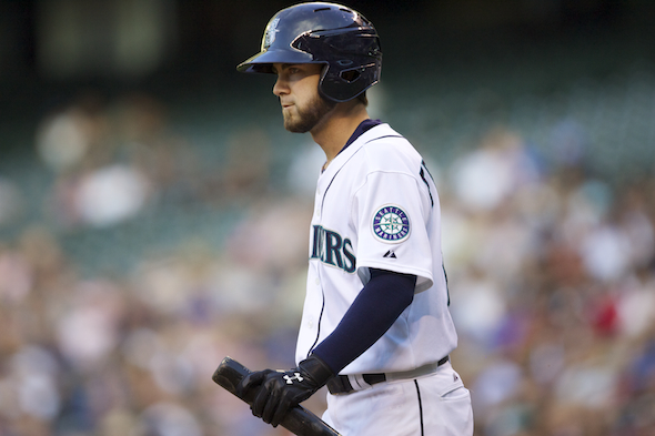 Second baseman Nick Franklin became expendable when the Mariners signed free agent Robinson Cano away from the New York Yankees. / Drew Sellers, Sportspress Northwest