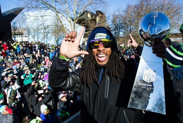 Richard Sherman would like you to know he's a winner. / Seattle Seahawks