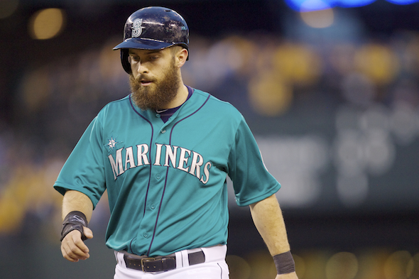 Outfielder Dustin Ackley has been the most productive hitter on a Seattle offense that has struggled after sweeping the Angels to open the season. Ackley is hitting  .xxx through Sunday's games. / Drew Sellers, Sportspress Northwest