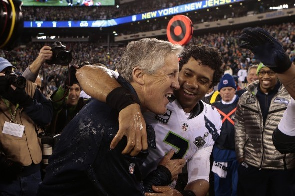 Russell Wilson Announces New Seahawks Contract While in Bed with Ciara
