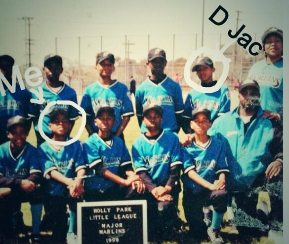 Richard Sherman tweeted this photo of his youth baseball team that included DeSean Jackson.