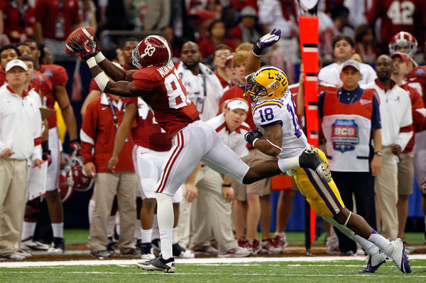 Kevin Norwood was an accomplished student as well as wide receiver at Alabama. /  Alabama athletics