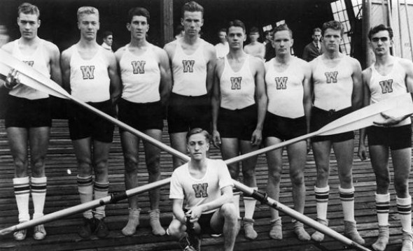 The 1936 University of Washington crew