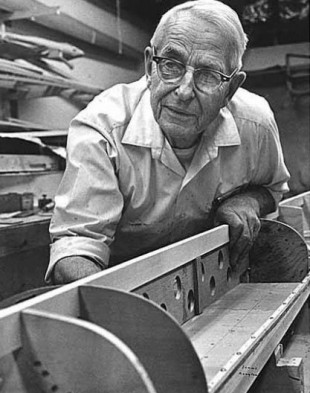 "Master boat builder George Yeoman Pocock crafted the ""Husky Clipper"" that the boys used to win the 1936 Olympic gold medal in Berlin, Germany. / Photo courtesy of the Museum of History and Industry (MOHAI)"