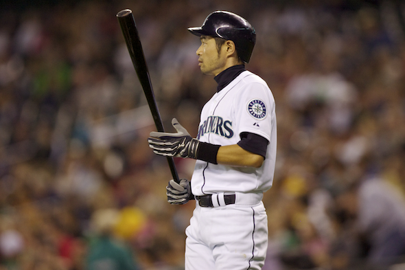 Ichiro played two seasons under Piniella, winning a batting title and MVP award in 2006. / Drew Sellers, Sportspress Northwest