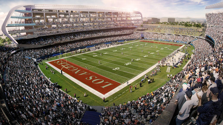 Proposed Los Angeles Stadiium Sportspress Northwest