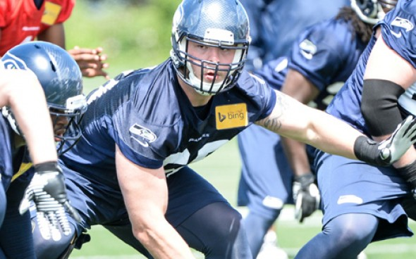 Carroll hails Britt as center signs new three-year deal with Seahawks