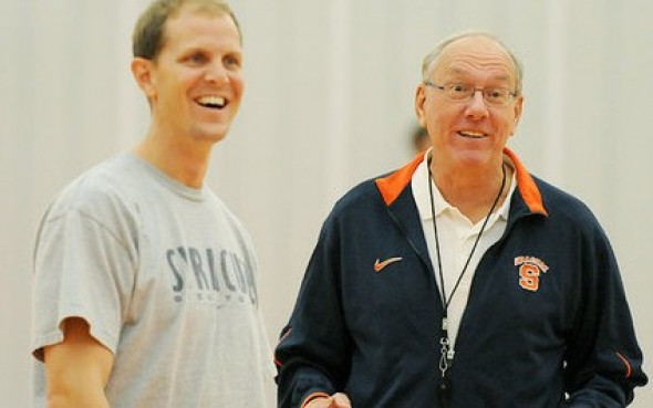 Mike Hopkins was going to succeed Jim Boeheim, and now he will succeed Lorenzo Romar. / syracuse.com