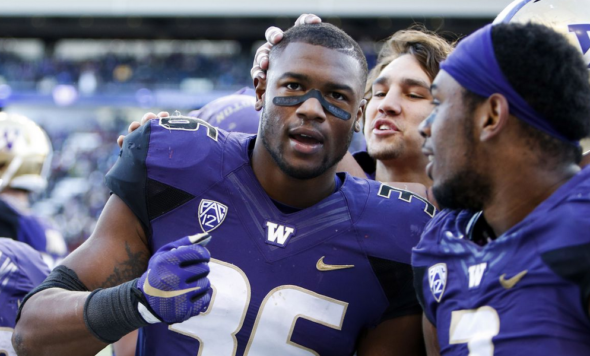 Washington All-American LB Azeem Victor suspended for season opener vs. Rutgers