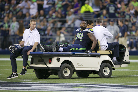 Seattle Seahawks T George Fant tears ACL, out for season