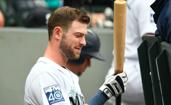 Mitch Haniger made his first All Star team Sunday.  Alan Chitlik Sportspress Northwest