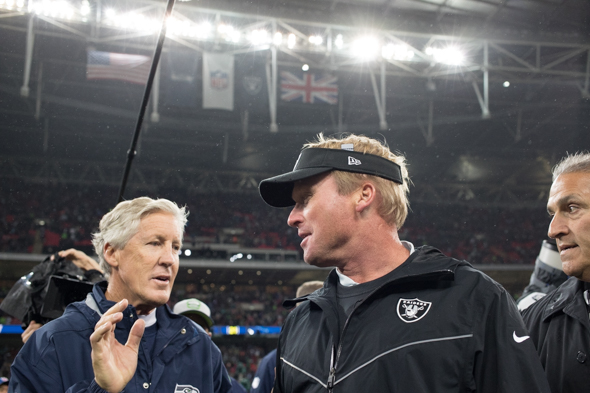 Pete-carroll-jon-gruden-london