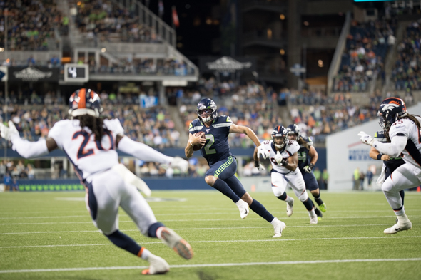 Thiel Paxton Lynch Seahawks Qb Savior Sportspress