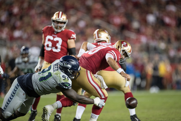 Thiel Seahawks Defense Showing Up Just In Time